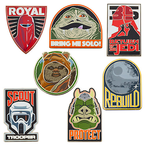 Star Wars: Return of the Jedi Mystery Pin