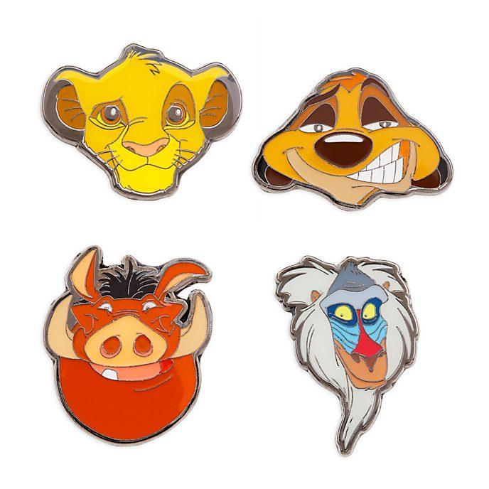 Disney Store The Lion King Pin Set