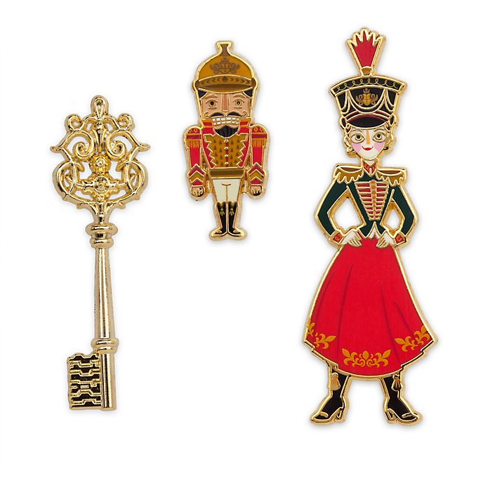 Disney Store The Nutcracker and the Four Realms Limited Edition Pin Set