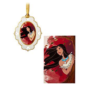 Disney Store Ensemble lithographie et objet décoratif Pocahontas, édition limitée