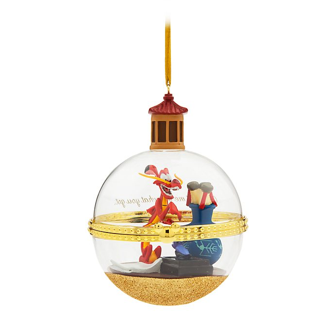 Disney Store Mushu and Cri-Kee Dynamic Duos Hanging Ornament, 1 of 12