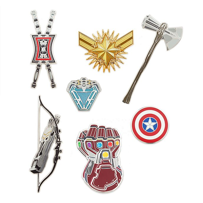 Disney Store Avengers: Endgame Limited Edition Pin Set