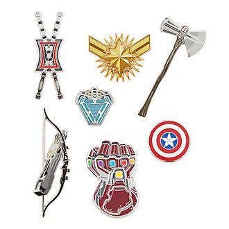 Set pins edición limitada Vengadores: Endgame, Disney Store