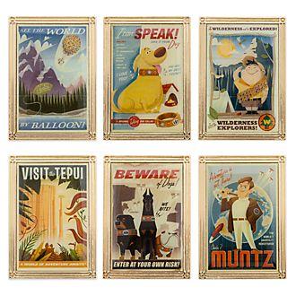 Set pins edición limitada Up, Disney Store