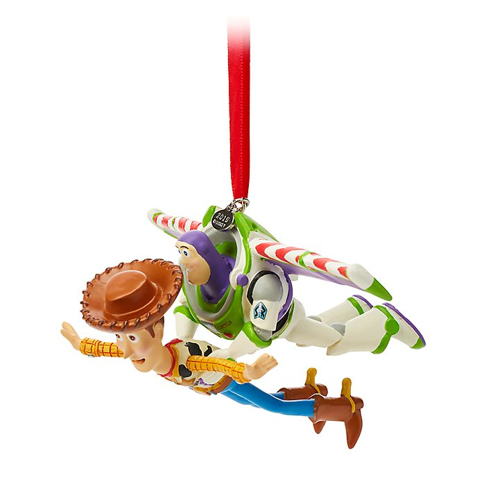 Disney Store Woody and Buzz Lightyear Hanging Ornament