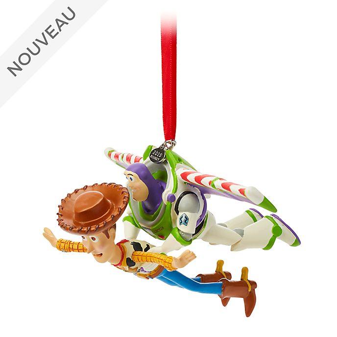 Disney Store Décoration Woody et Buzz l'Éclair à suspendre