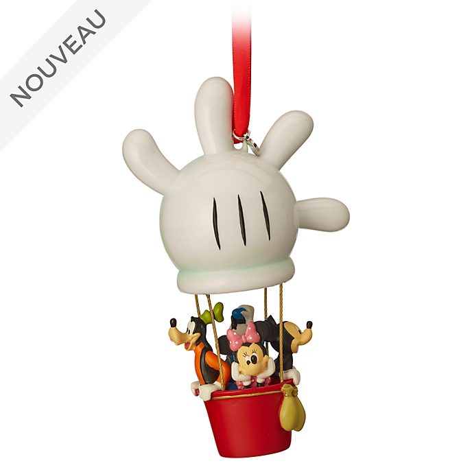 Disney Store Décoration Mickey et ses amis en montgolfière à suspendre