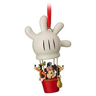 Disney Store Mickey and Friends Hot Air Balloon Hanging Ornament