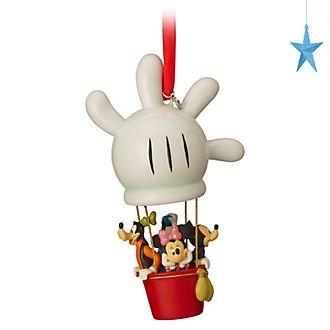 Adorno colgante de Mickey Mouse y sus amigos en un globo aerostático, Disney Store