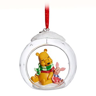 Disney Store Winnie the Pooh and Piglet Hanging Ornament