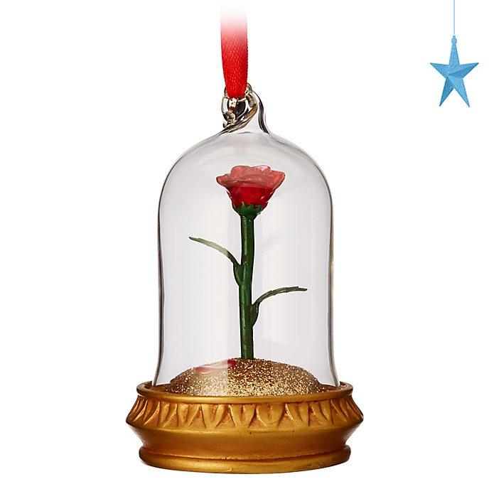 Disney Store Décoration lumineuse Rose enchantée à suspendre