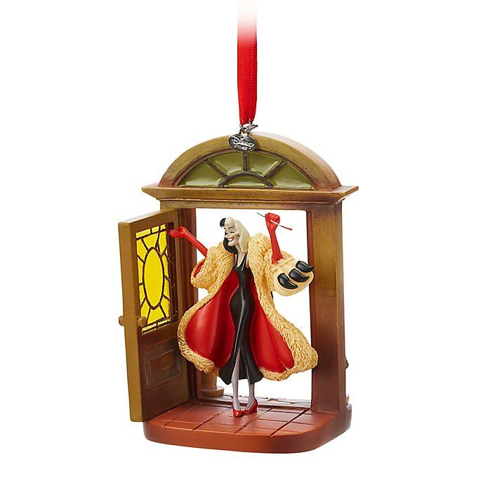 Disney Store Cruella de Vil Hanging Ornament