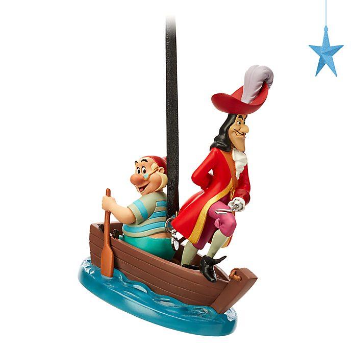 Decorazione a sospensione Capitan Uncino e Spugna Peter Pan Disney Store