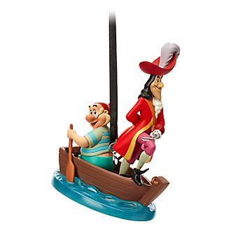 Disney Store Décoration Capitaine Crochet et M.Mouche à suspendre, Peter Pan