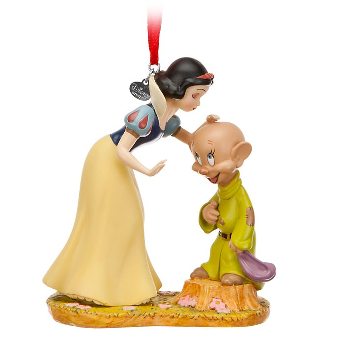 Adorno colgante Blancanieves y Mudito, Disney Store
