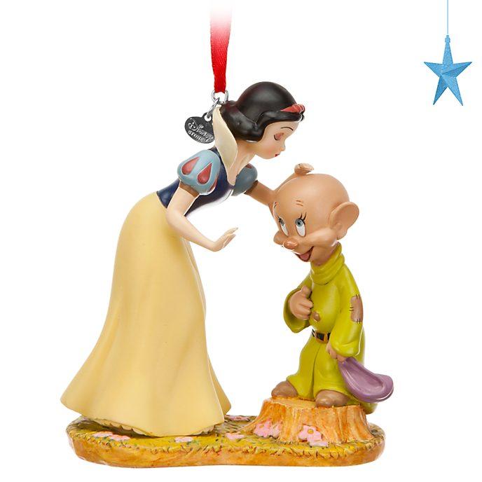 Decorazione a sospensione Biancaneve e Cucciolo Disney Store
