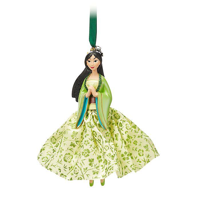 Disney Store Mulan Hanging Ornament