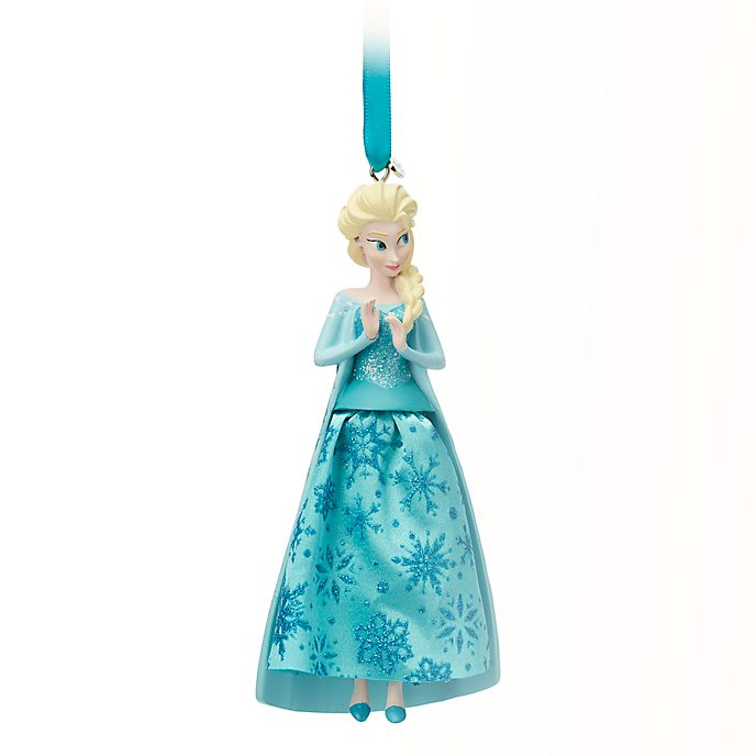 Disney Store Elsa Hanging Ornament