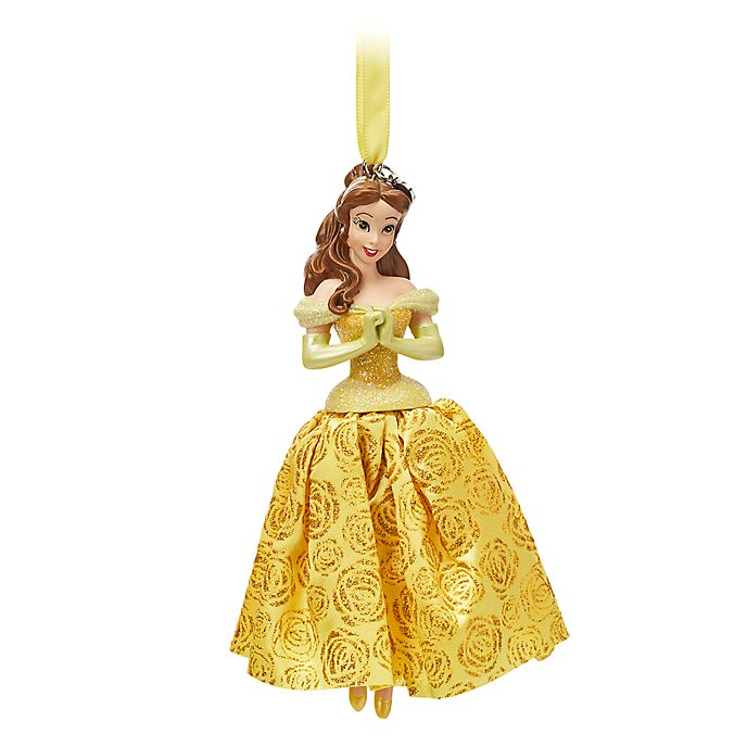 Disney Store Belle Hanging Ornament