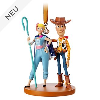 Disney Store - Toy Story4 - Woody und Porzellinchen - Dekorationsstück zum Aufhängen
