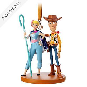 Disney Store Décoration Woody et La Bergère à suspendre, Toy Story4