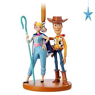 Ornament a sospensione Woody e Bo Peep Toy Story 4 Disney Store