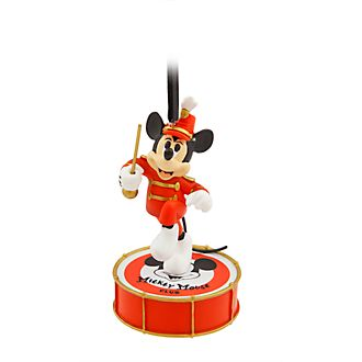 Disney Store Mickey Mouse Singing Hanging Ornament