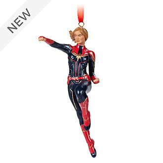 Disney Store Captain Marvel Hanging Ornament