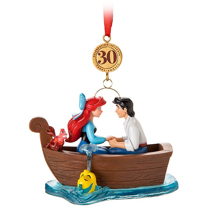 Disney Store The Little Mermaid Hanging Ornament