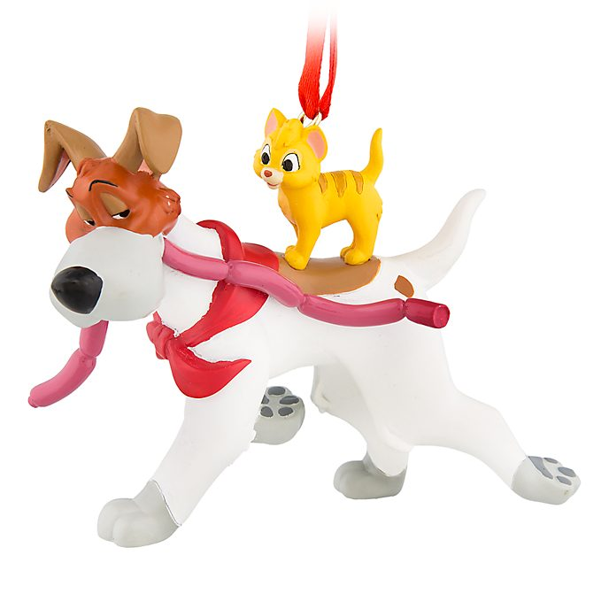 Disney Store Oliver and Company Hanging Ornament