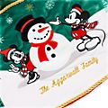Disney Store Jupe de sapin Mickey et ses amis Holiday Cheer