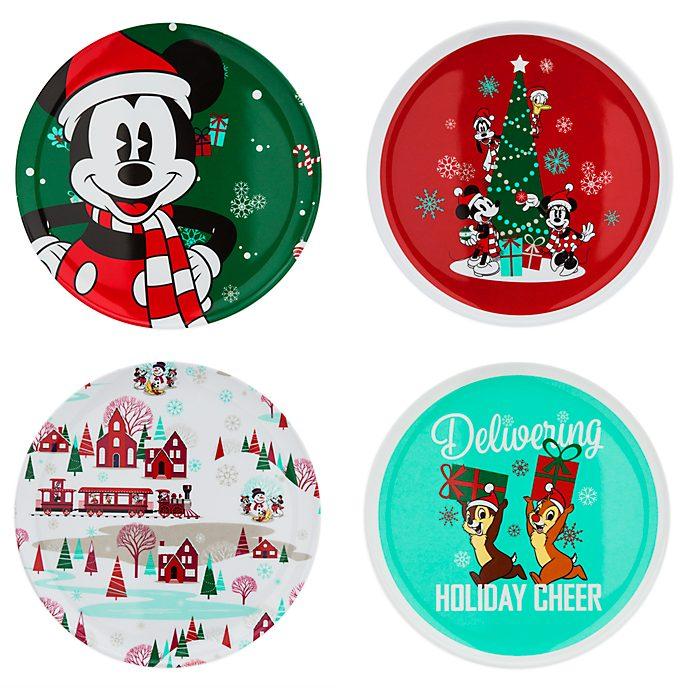Disney Store - Holiday Cheer - Micky und seine Freunde - Teller