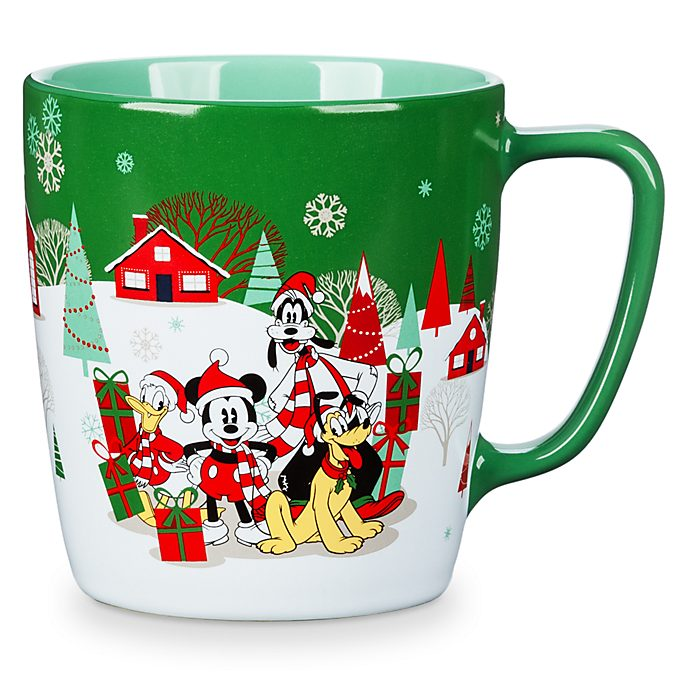 Disney Store Mickey and Friends Holiday Cheer Mug