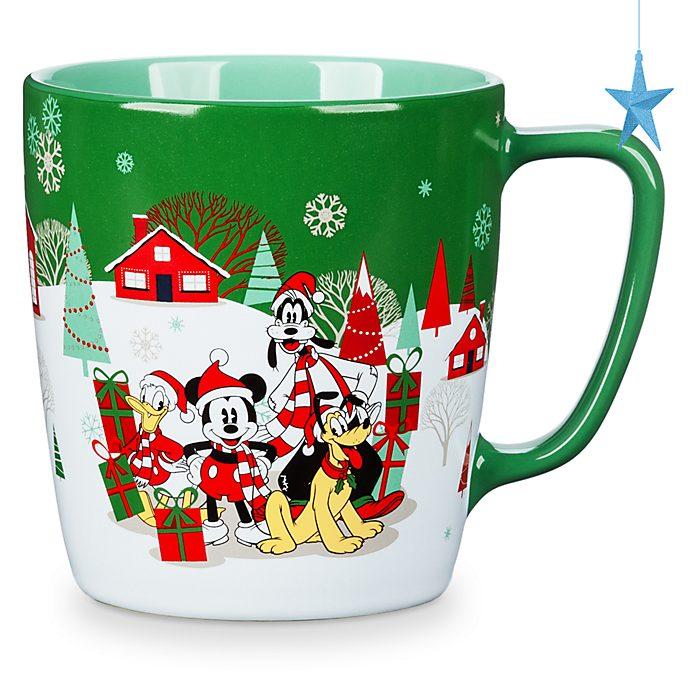 Disney Store Mug Mickey et ses amis, Holiday Cheer