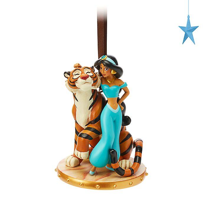 Ornament da appendere Jasmine e Rajah Disney Store