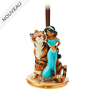 Disney Store Décoration Jasmine et Rajah à suspendre