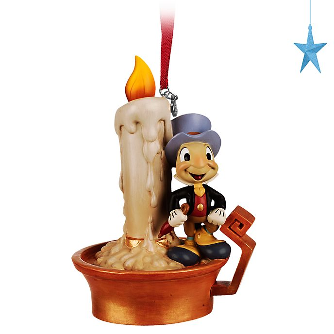 Disney Store Décoration lumineuse Jiminy Cricket à suspendre