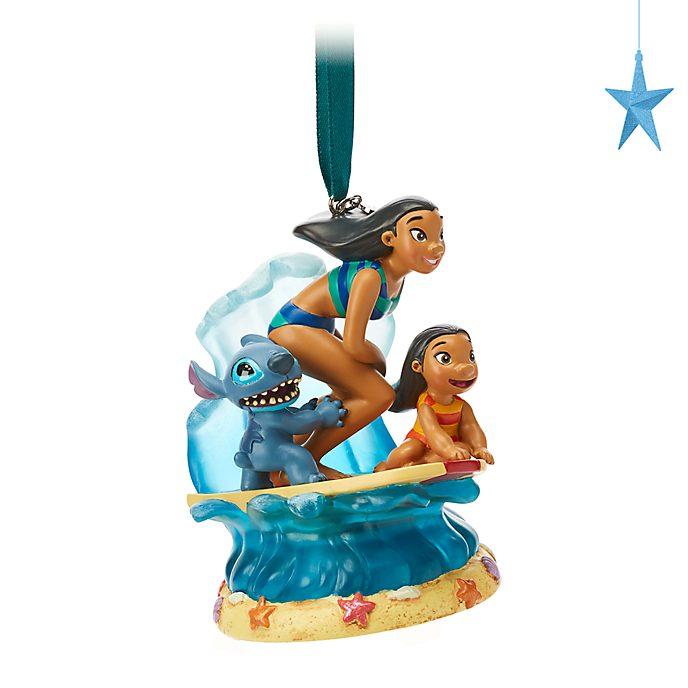 Disney Store Objet décoratif à suspendre Lilo & Stitch