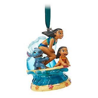 Ornament a sospensione musicale Lilo e Stitch Disney Store