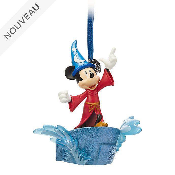 Disney Store Décoration lumineuse Mickey l'Apprenti sorcier à suspendre