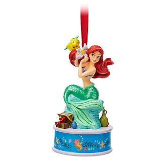 Disney Store The Little Mermaid Singing Hanging Ornament