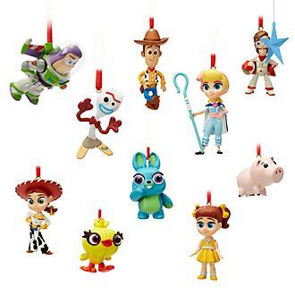 Disney Store - Toy Story4 - Dekorationsstücke zum Aufhängen, 10-teiliges Set