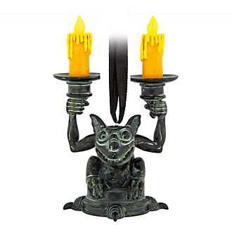 Ornament luminoso da appendere Gargoyle Haunted Mansion Disney Store