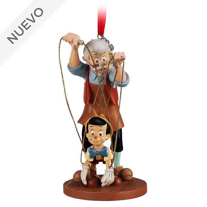 Adorno colgante Pinocho y Geppetto, Disney Store