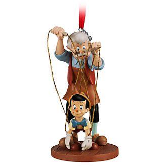 Ornament a sospensione Pinocchio e Geppetto Disney Store