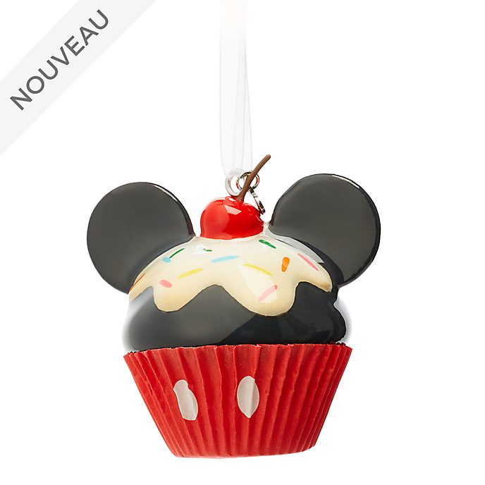 Disney Store Décoration cupcake Mickey à suspendre
