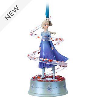 Disney Store Elsa Singing Hanging Ornament, Frozen 2