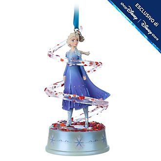 Decorazione a sospensione musicale Elsa Frozen 2: Il Segreto di Arendelle Disney Store