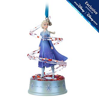 Disney Store Elsa Singing Hanging Ornament, Frozen 2