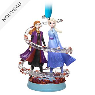 Disney Store Décoration Anna et Elsa à suspendre, La Reine des Neiges2